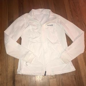 White Columbia titanium jacket